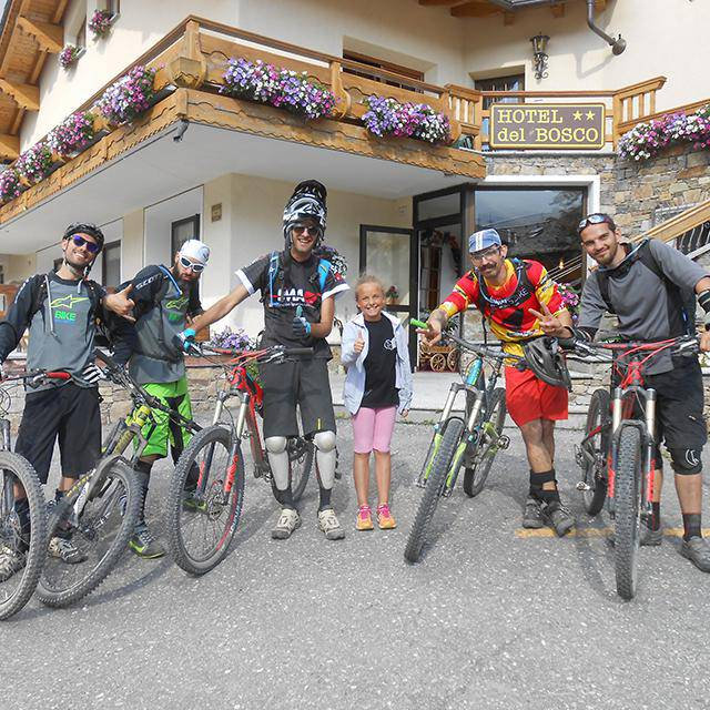 Mountain bike a Livigno
