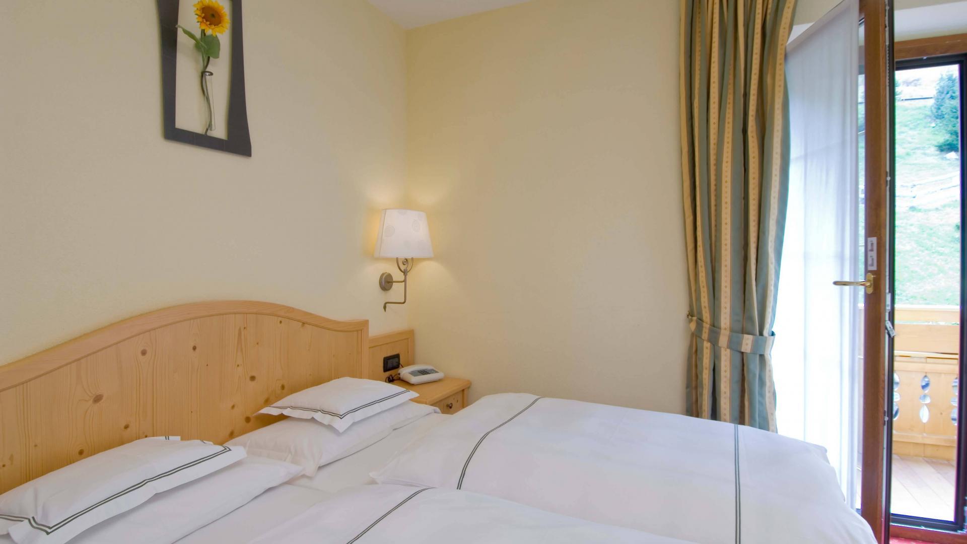 Camera doppia con vista su Livigno - Hotel del Bosco