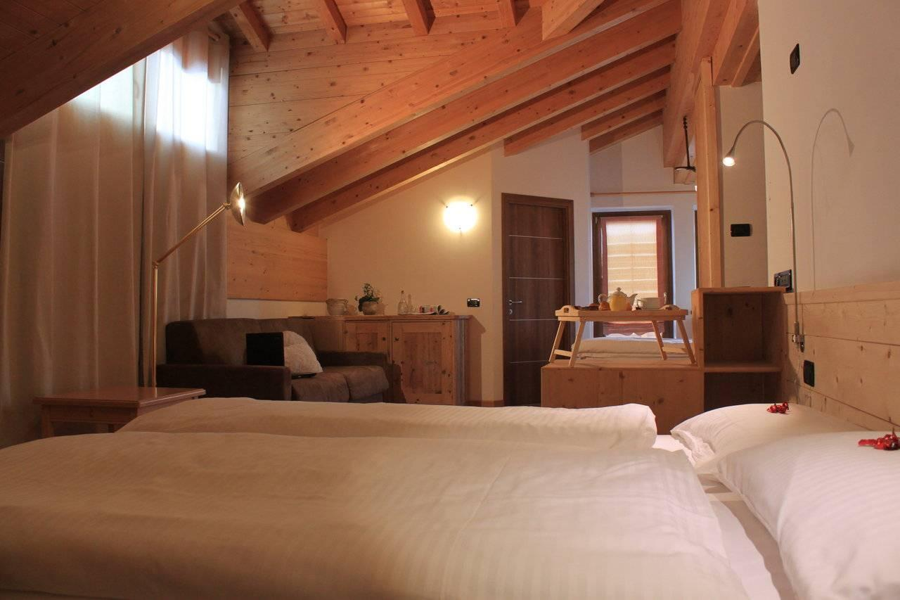 Family room for holidays in Livigno