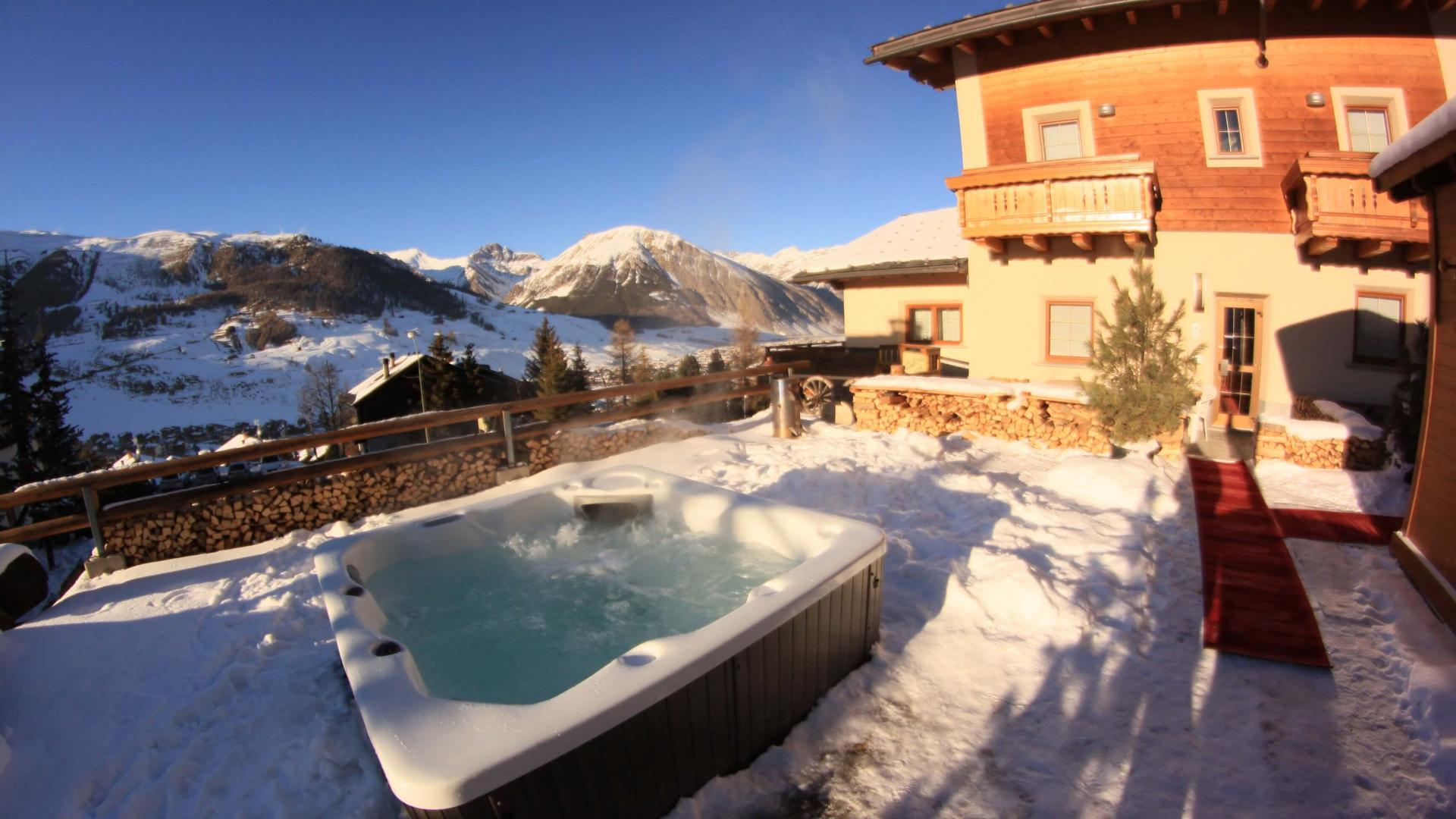 Area Wellness - Hotel del Bosco a Livigno
