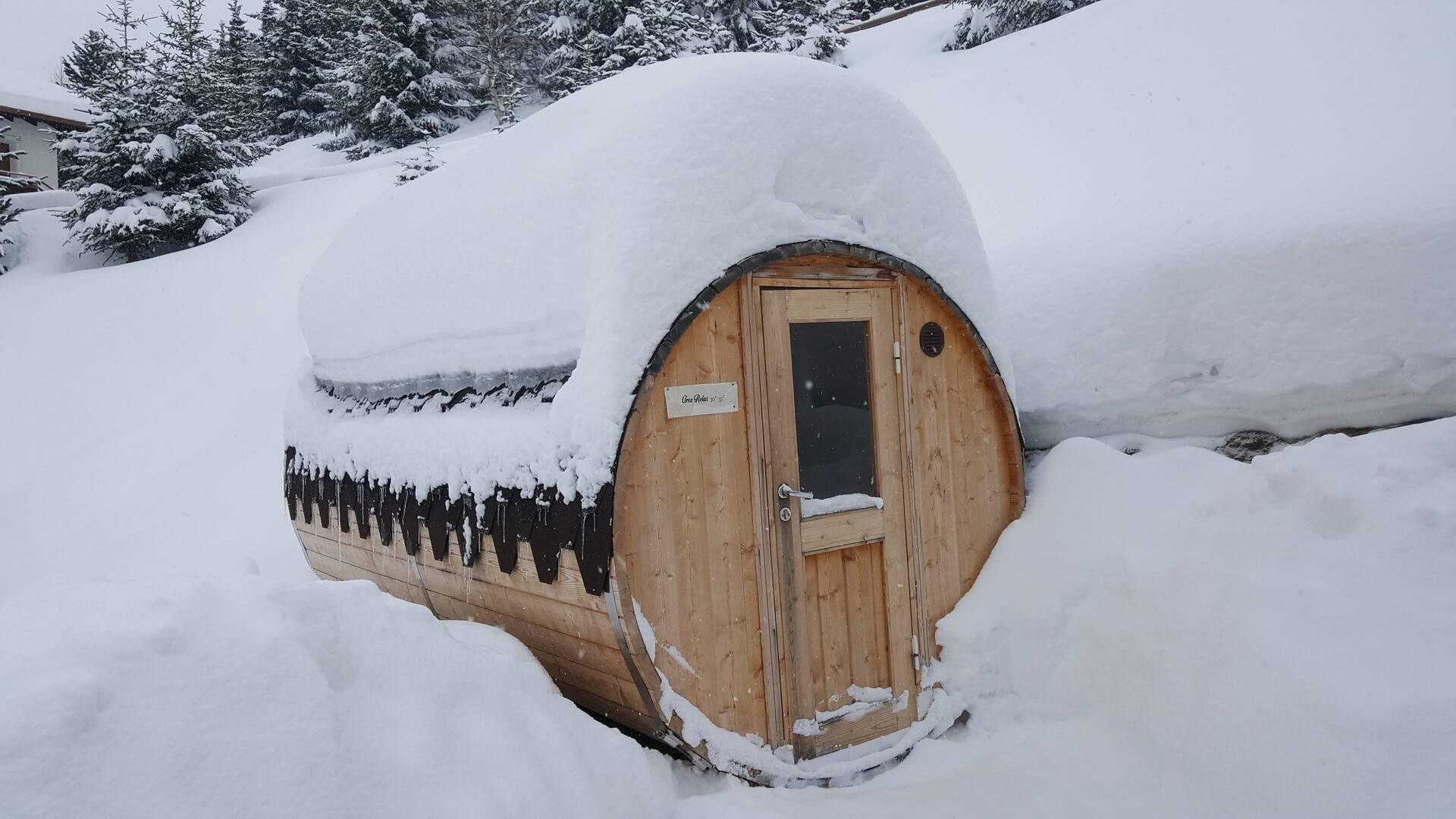 Sauna a botte - Hotel del Bosco Livigno