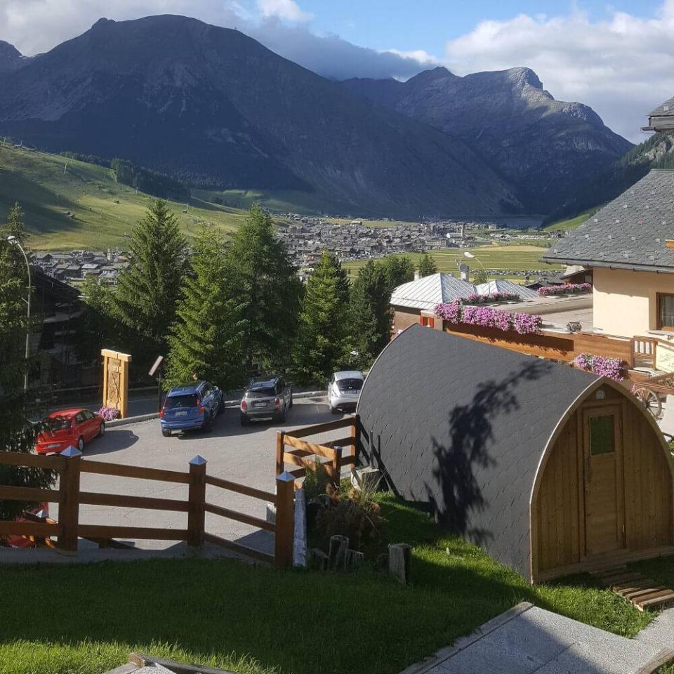 Esterno sauna - Livigno
