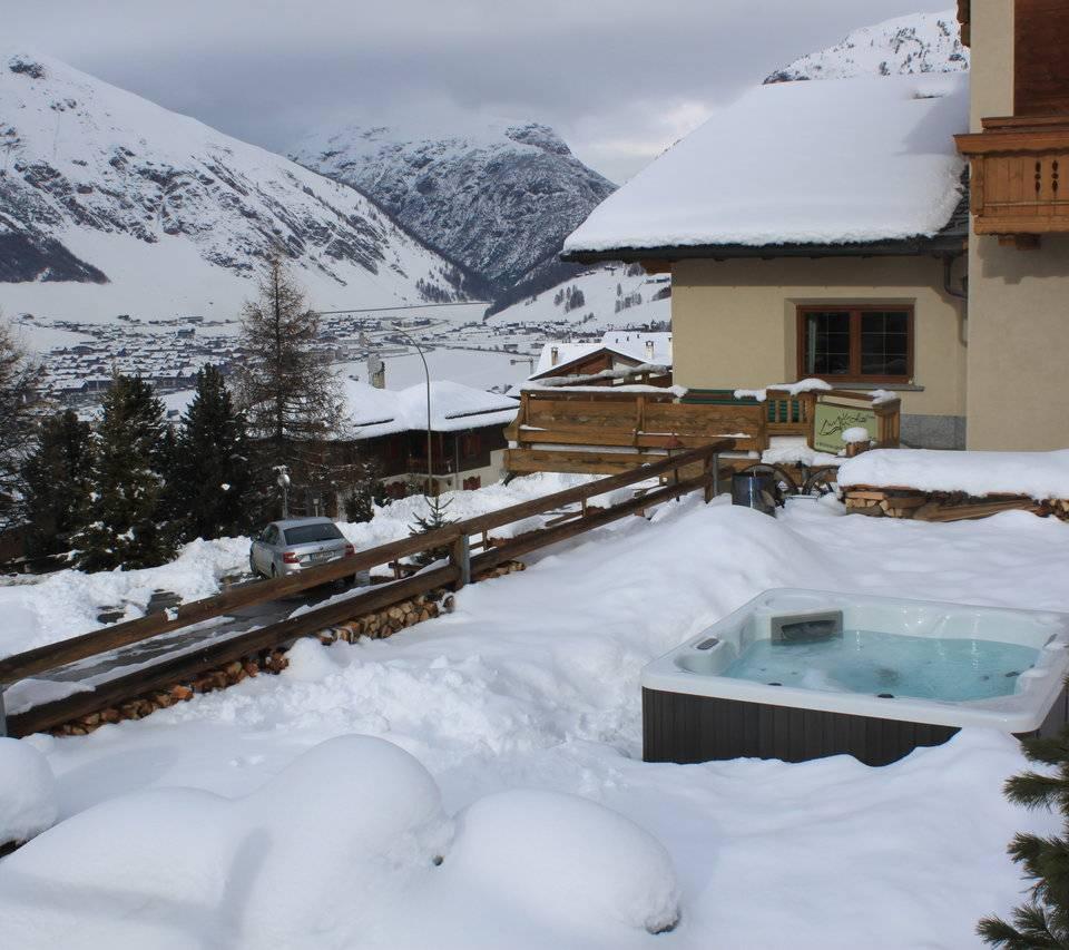 Vasca idromassaggio riscaldata: hotel del Bosco