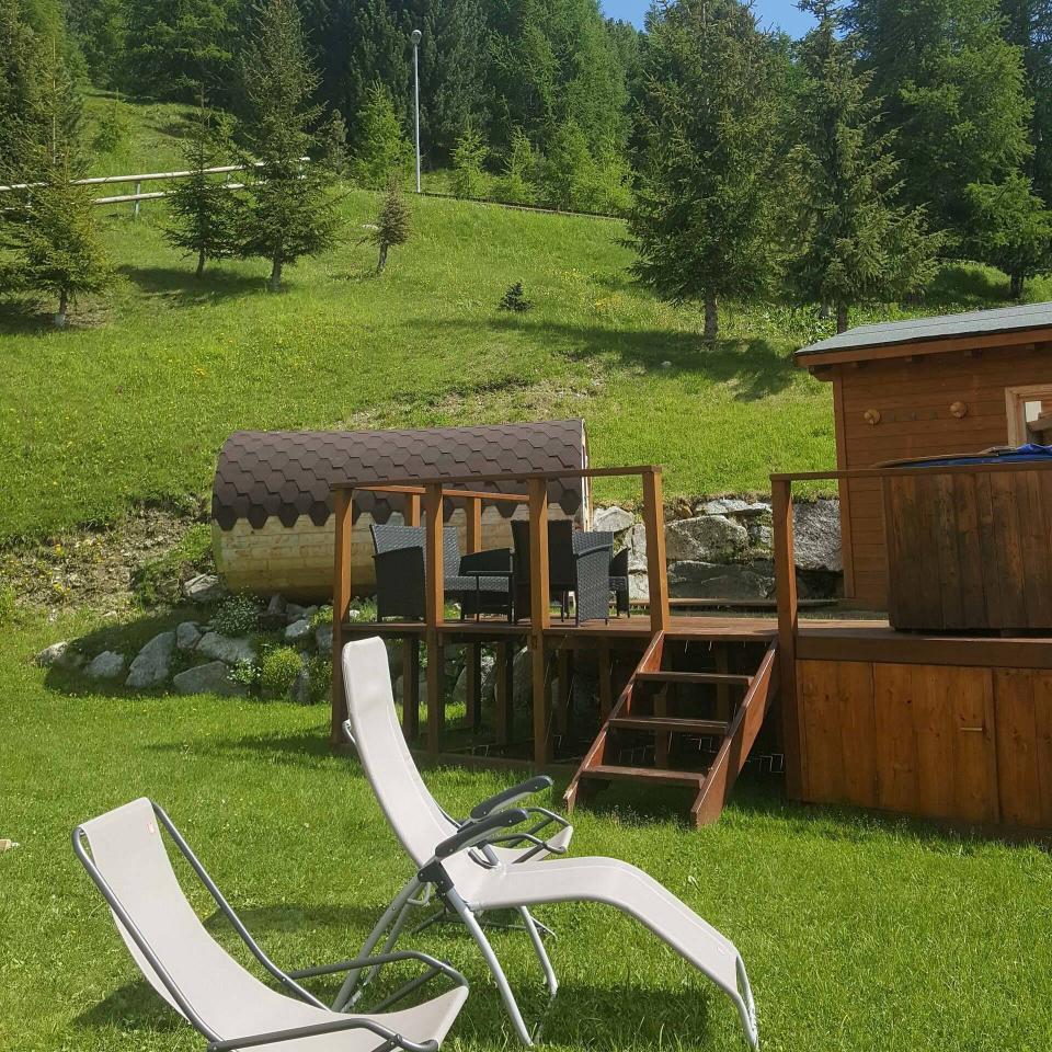 Area Relax: foto da esterno
