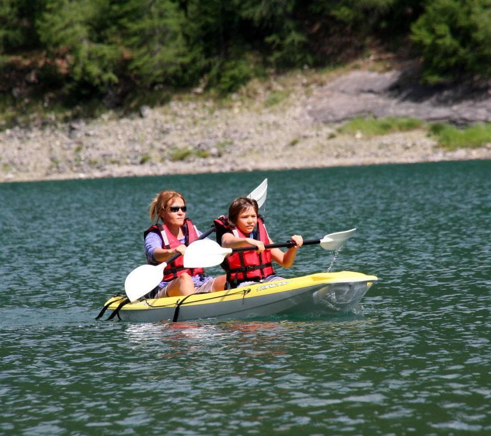 lago di Livigno: attività estive