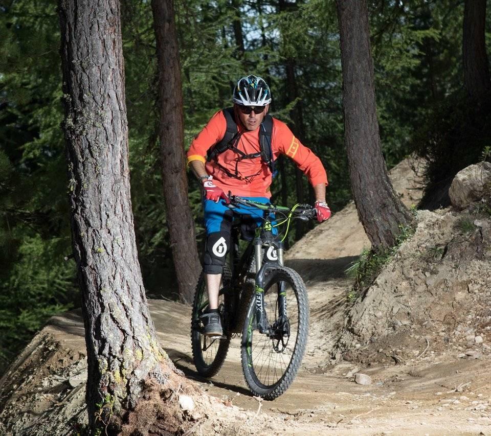 Mountain Bike sui sentieri di Livigno