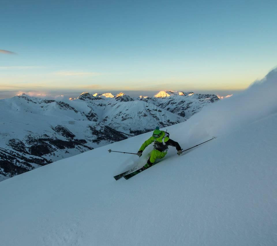 Freeride activities in Livigno