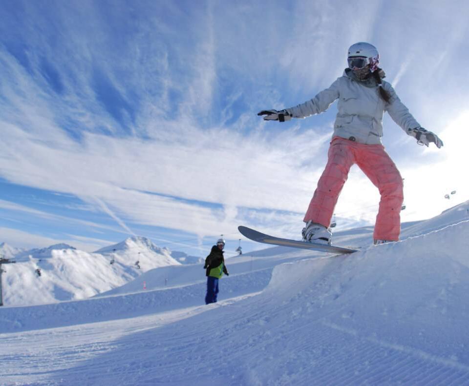 Lo snowboard in Livigno